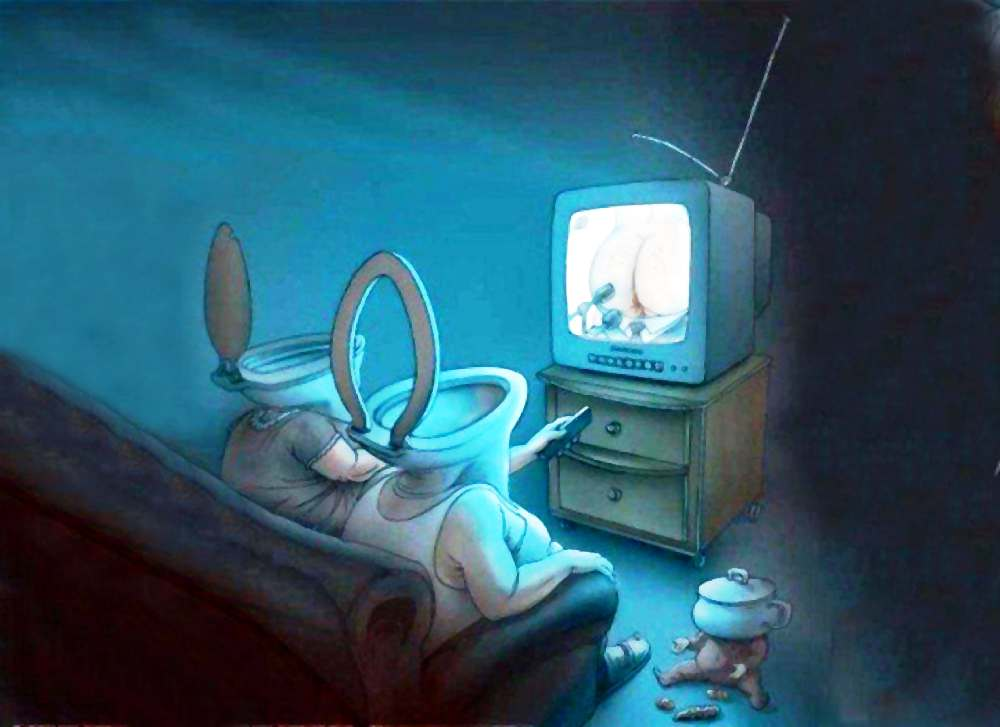 как не отупеть? - не смотрите ТВ