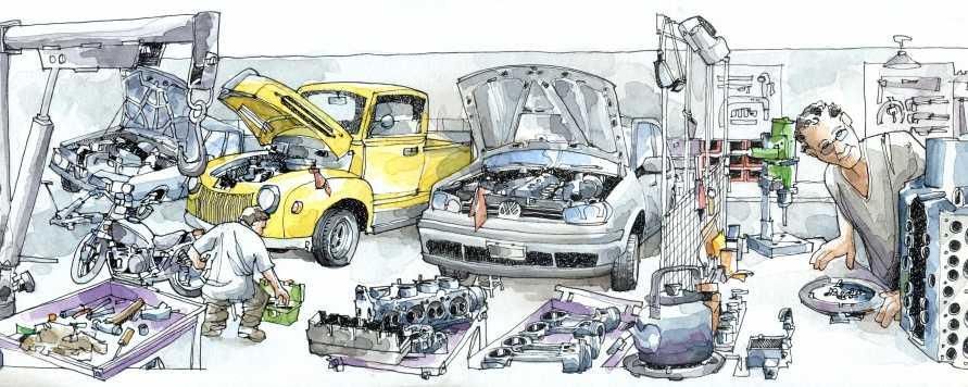Инструменты гаражника