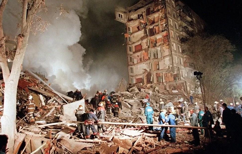 теракт в Москве 1999