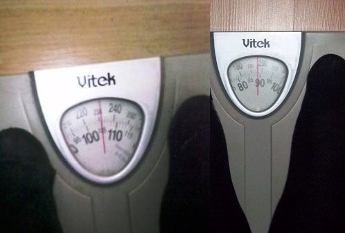 изменение веса минус 15 КГ