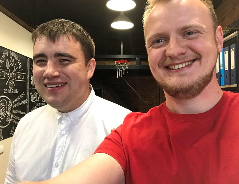 Николай Танкушин и Николай Волосянков