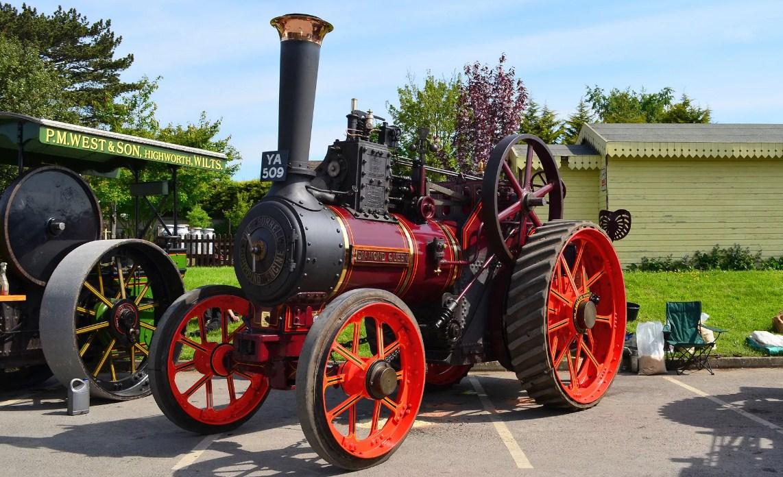 Трактор 19 века